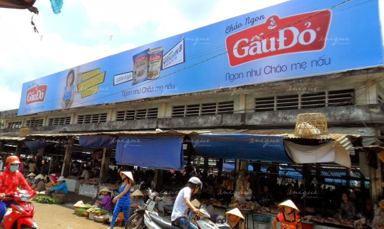 quảng cáo biển pano chợ
