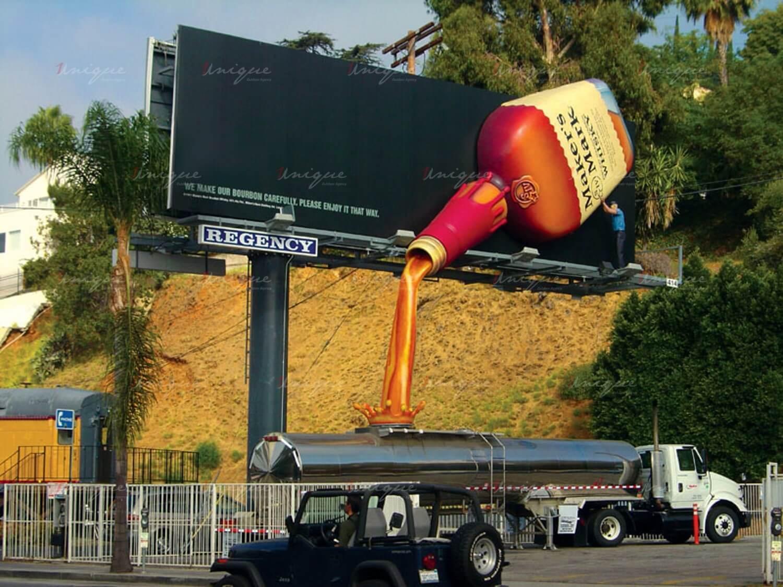 quảng cáo ngoài trời sáng tạo